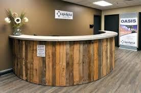 Reception Desk Wood Wood Reception Desk Modern Wood Reception Desk Solid Wood