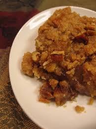 cookin up neely s apple crisp with pecans 12 weeks of