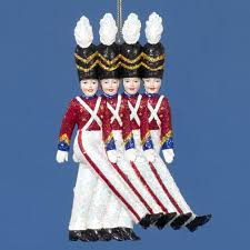 radio city spectacular soldiers ornament