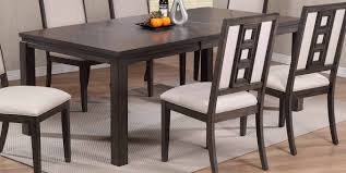 gray 5 piece contemporary dining set hartford rc willey