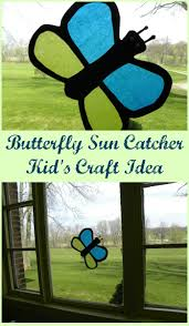 butterfly sun catcher craft the kid u0027s fun review