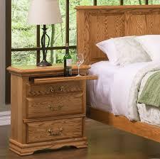 bedroom furniture 3 drawer nightstand left american made