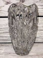 Large Waterford Crystal Vase Large Marquis Waterford Crystal Oval Basketweave Vase 40007504 Ebay