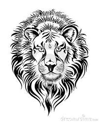 tribal leo sign tattoo design idea