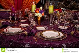 Table Place Settings by Elegant Modern Table Place Setting Stock Photo Image 41195549