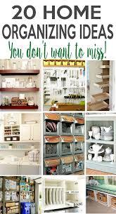 Home Organizing 215 Best Home Organization Images On Pinterest Organizing