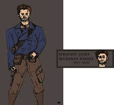 Sergeant James Barnes Sergeant James Buchanan Barnes Mess By Iamala On Deviantart