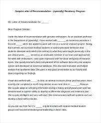 personal letter of recommendation sample