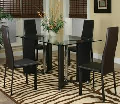 contemporary design norris five piece dining set by cramco inc