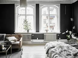dreamy scandi apartment with black walls daily dream decor dreamy scandi apartment with black walls