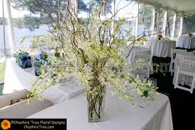 lee 07b wainwright house rye wedding cermony arrangement white