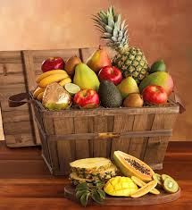 fruit basket gift deluxe fresh fruit basket gift baskets harry david