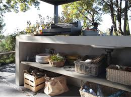 cuisine d ext駻ieur pratique et esthétique adoptez la cuisine d extérieur