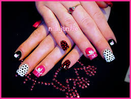 photos of hello kitty nails images
