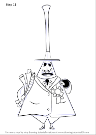 learn draw mayor halloween town nightmare