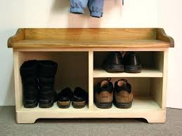 entryway bench with shoe storage and coat rack home design
