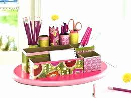 Pink Desk Organizers And Accessories Desk Accessories Also Office Supplies Decor Also
