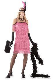 Halloween Flapper Costumes Pink Flapper Costume Women Chasing Fireflies