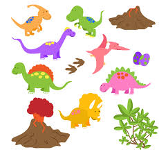 clipart of dinosaur for free u2013 clipart gallery