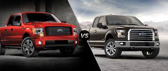 ford f150 ford f 150 vs 2015 ford f 150