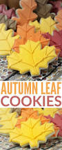best 25 leaf cookies ideas on pinterest halloween sugar cookies