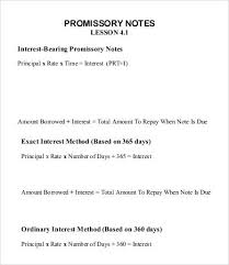 sample promissory note exhibit hh form of promissory note 10