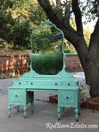 Turquoise Vanity Table Vanity Custom Order An Antique Dresser Shabby Chic Painted