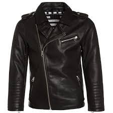 leather biker jacket scotch u0026 soda boys black leather biker jacket u2013 petit new york