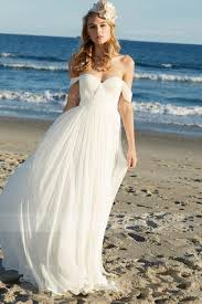 flowy chiffon beach wedding dress c70 about romantic wedding