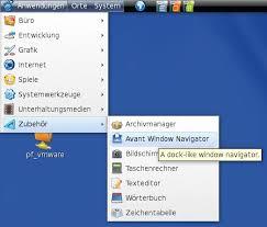 Awn Applets Using The Avant Window Navigator Awn On Fedora 7