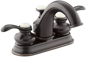 Oil Rubbed Bronze Faucet Bathroom Kohler K1226642bz Fairfax Centerset Bathroom Sink Faucet With