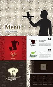 bar menu design templates vector vector graphics blog