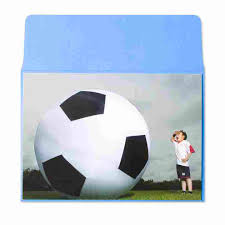 big soccer ball by marcel schurman funny birthday cards papyrus