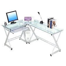 Black Glass Top Computer Desk Computer Glass Desk Archana Me