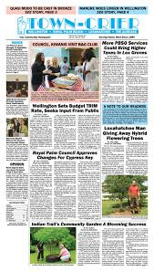 town crier newspaper july 14 2017 by wellington the magazine llc