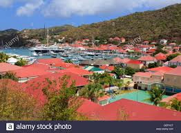 Saint Barts Map by Gustavia St Barthelemy St Barts Leeward Islands West Indies