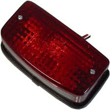 Taillight Complete For 1985 Honda Mtx 125 Rwe Disc