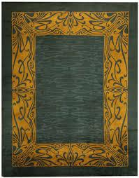 antique art nouveau irish donegal rug 43139 by nazmiyal