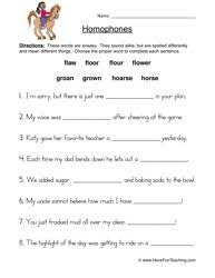 homophones worksheet 3 worksheets teaching vocabulary and language