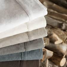 malouf portuguese flannel sheet set reviews wayfair