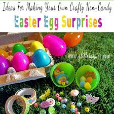 easter eggs surprises crafty non candy easter egg fillers glitter n spice