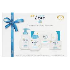baby essentials baby dove complete care baby essentials gift set 4 pc