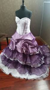 best lavender and white wedding dresses pictures style and ideas