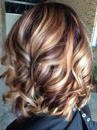 short brown hair with blonde highlights brown hair with blonde highlights