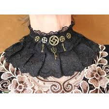 lace collar choker necklace images Steampunk accessories steampunk collars cuffs and necklaces jpg