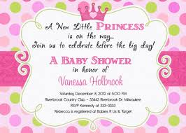 princess baby shower invitations templates gallery invitation
