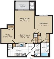 Ellington Floor Plan The Marque At Heritage Hunt Apartments 13550 Heathcote Boulevard