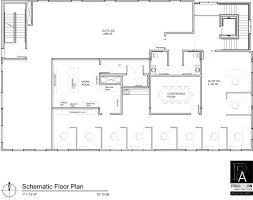 office layout floor plan samples