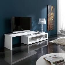 axe design meuble meuble tv blanc laqué extensible u2013 artzein com