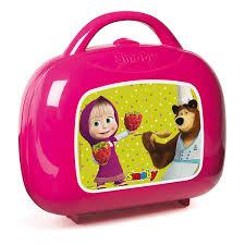 mini cuisine jouet mini cuisine masha michka 17 accessoires smoby king jouet